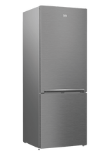 "Load image into Gallery viewer, Beko BFBF2715SS 27"" Freezer Bottom Stainless Steel Refrigerator"