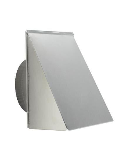 "Load image into Gallery viewer, Best Range Hoods 610FA 10"" Round, Fresh Air Inlet Wall Cap, Aluminum"