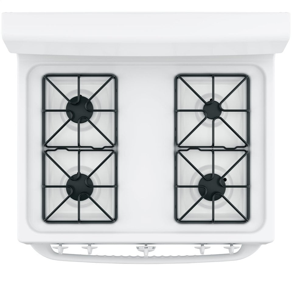 "Load image into Gallery viewer, Hotpoint RGBS300DMWW Hotpoint® 30"" Free-Standing Gas Range"