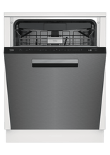 Load image into Gallery viewer, Beko DDT38530XIH Tall Tub Stainless Dishwasher, 16 Place Settings, 45 Dba, Top Control With Pocket Handle