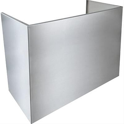 "Load image into Gallery viewer, Best Range Hoods AEWPD318SB 18"" Flue Cover For 9' Ceiling - Standard Depth"