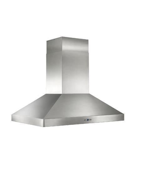 "Load image into Gallery viewer, Best Range Hoods IPP9IQT42SB Ipp9 - 42"" X 30"" Stainless Steel Island Range Hood With Iq12 Blower System, 1500 Max Cfm"