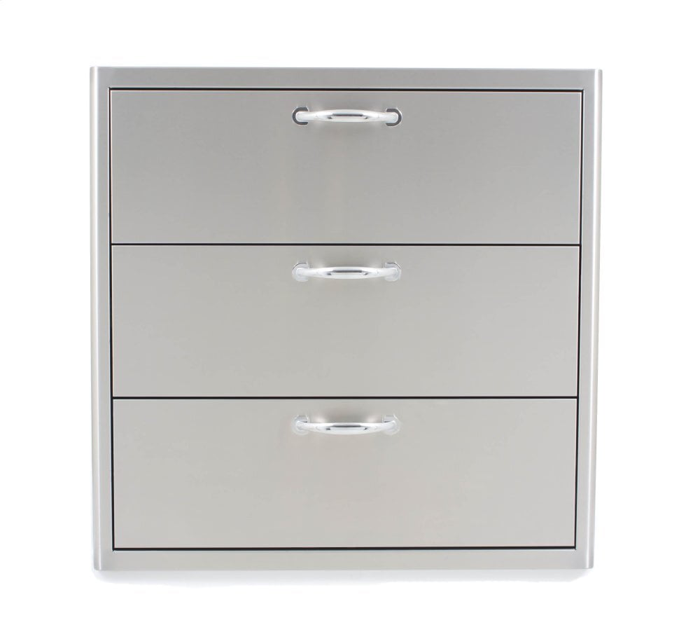 Load image into Gallery viewer, Blaze Grills BLZ30W3DRW Blaze 30 Inch Triple Access Drawer