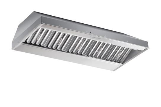"Load image into Gallery viewer, Best Range Hoods CP57IQT489SB 48"" X 19.25"" Depth Stainless Steel Built-In Range Hood With Iq12 Blower System, 1500 Max Cfm"