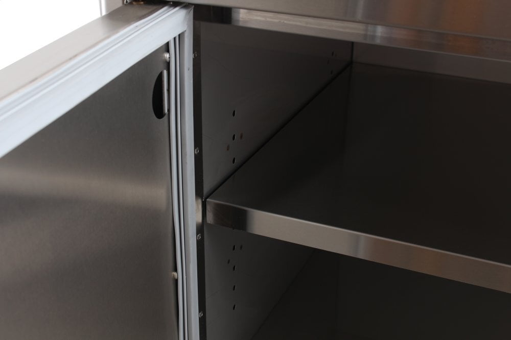 Load image into Gallery viewer, Blaze Grills BLZDRYSTG Blaze Stainless Steel Enclosed Dry Storage Cabinet With Shelf