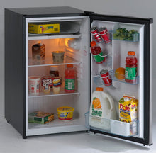 Load image into Gallery viewer, Avanti RM4436SS 4.4 Cf Counterhigh Refrigerator - Black W/Stainless Steel Door