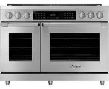 "Load image into Gallery viewer, Dacor HDPR48CLP 48"" Dual Fuel Pro Range, Dacormatch, Liquid Propane"