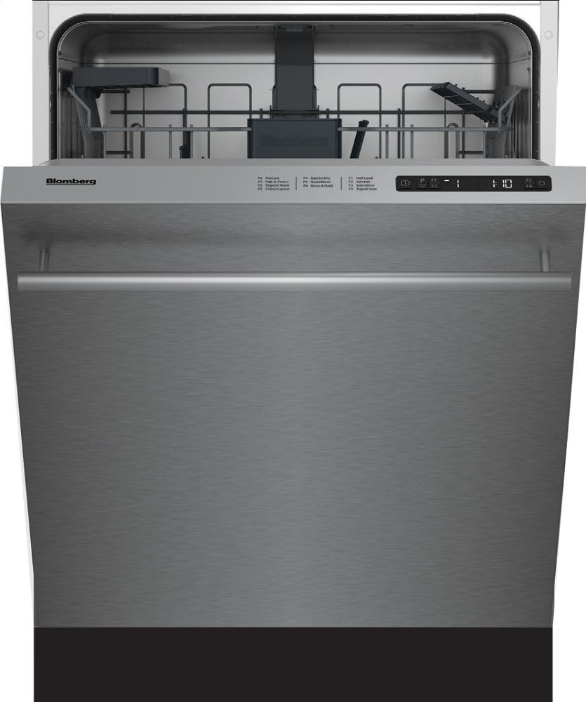 "Load image into Gallery viewer, Blomberg Appliances DW51600SS 24"" Ada Height Dishwasher 5 Cycle Top Control Stainless 48 Dba"