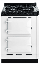 Load image into Gallery viewer, Aga TCDCNGMWHT Aga 24In Integrated Dual Fuel Module Cast Iron Range - Natural Gas - White