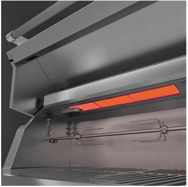 "Load image into Gallery viewer, Hestan GSBR42NGRD Hestan 42"" Natural Gas Built In Grill Gsbr42 - Red (Custom Color: Matador)"