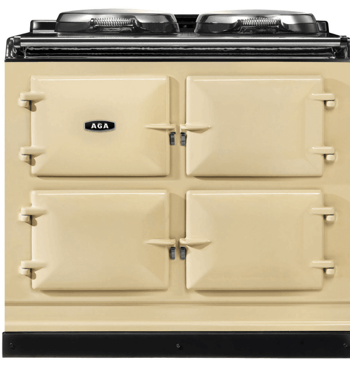 Load image into Gallery viewer, Aga ADC3GCRM Aga 39In Dual Control 3-Oven Natural Gas Cast Iron Range - Cream