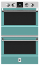"Load image into Gallery viewer, Hestan KDO30TQ 30"" Double Wall Oven - Turquoise / Bora Bora"