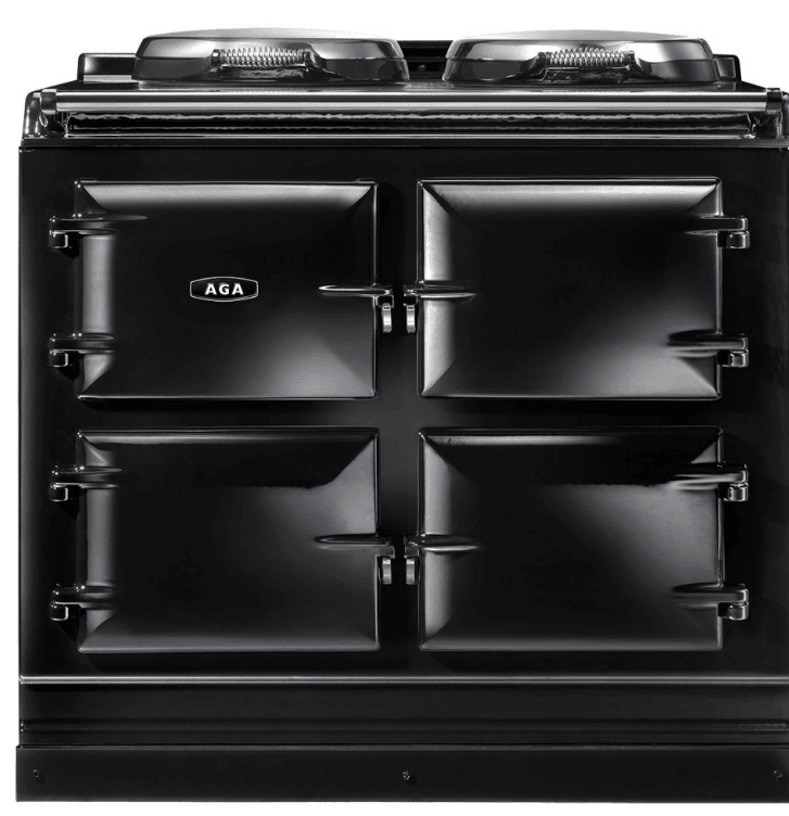 Load image into Gallery viewer, Aga ADC3GBLK Aga 39In Dual Control 3-Oven Natural Gas Cast Iron Range - Black