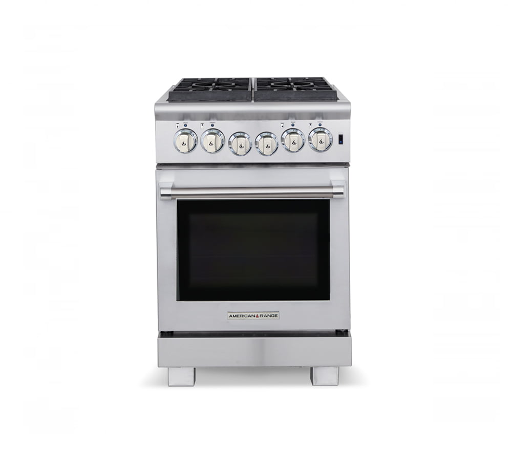 "Load image into Gallery viewer, American Range ARR424N 24"" Cuisine Ranges Natural Gas"