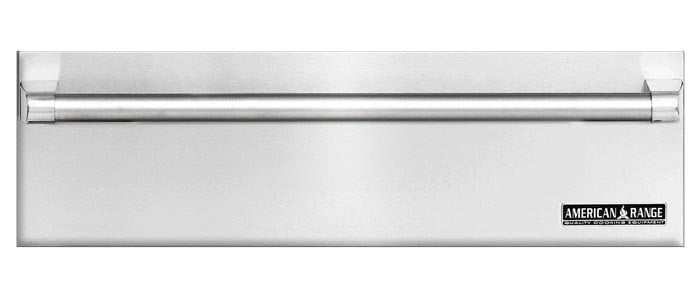 "Load image into Gallery viewer, American Range ARR36WD 36"" Stainless Steel Warming Drawer With Classic Handle"