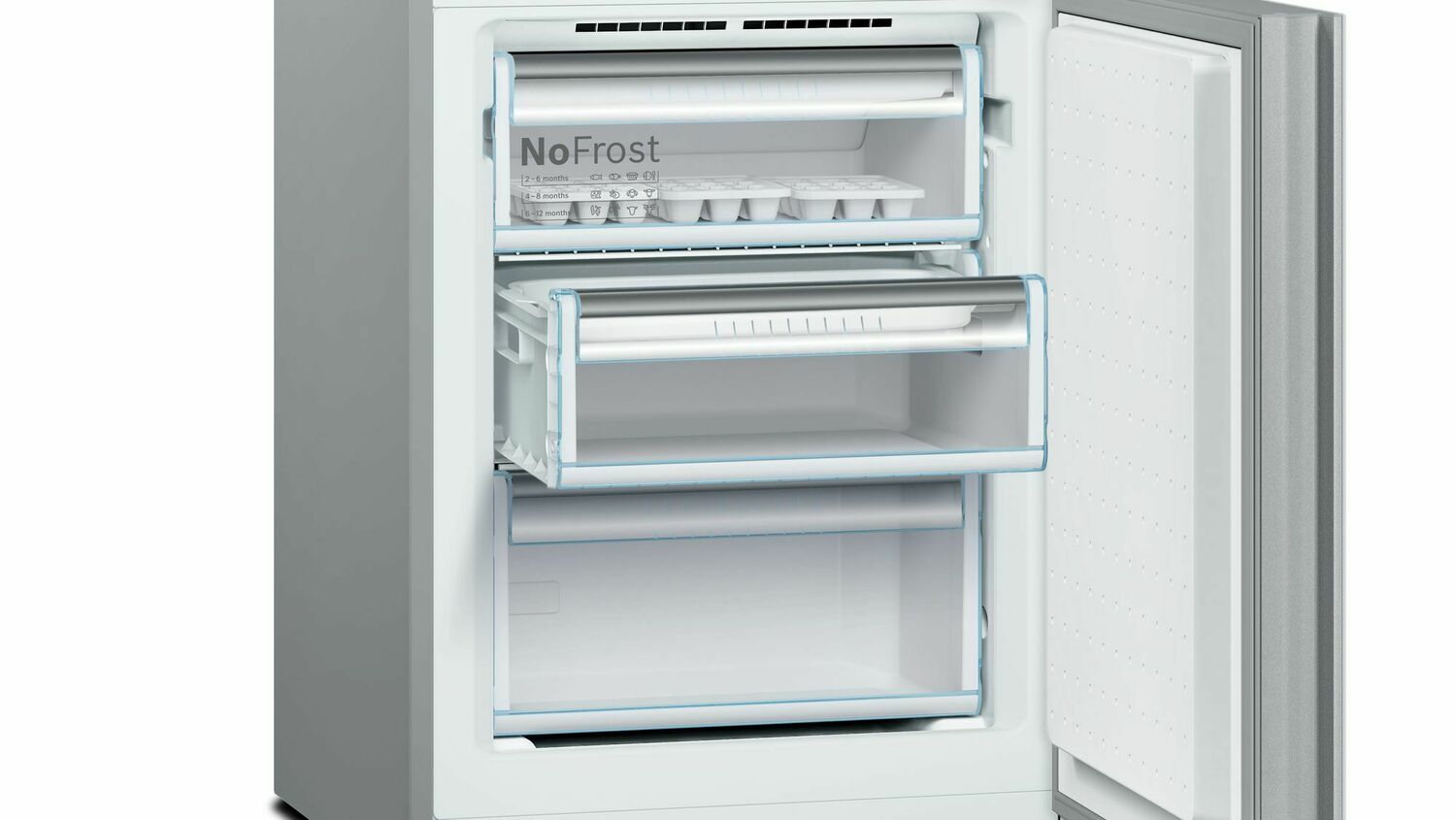 Load image into Gallery viewer, Bosch B10CB80NVW 800 Series, Free-Standing Fridge-Freezer-White Glass Door