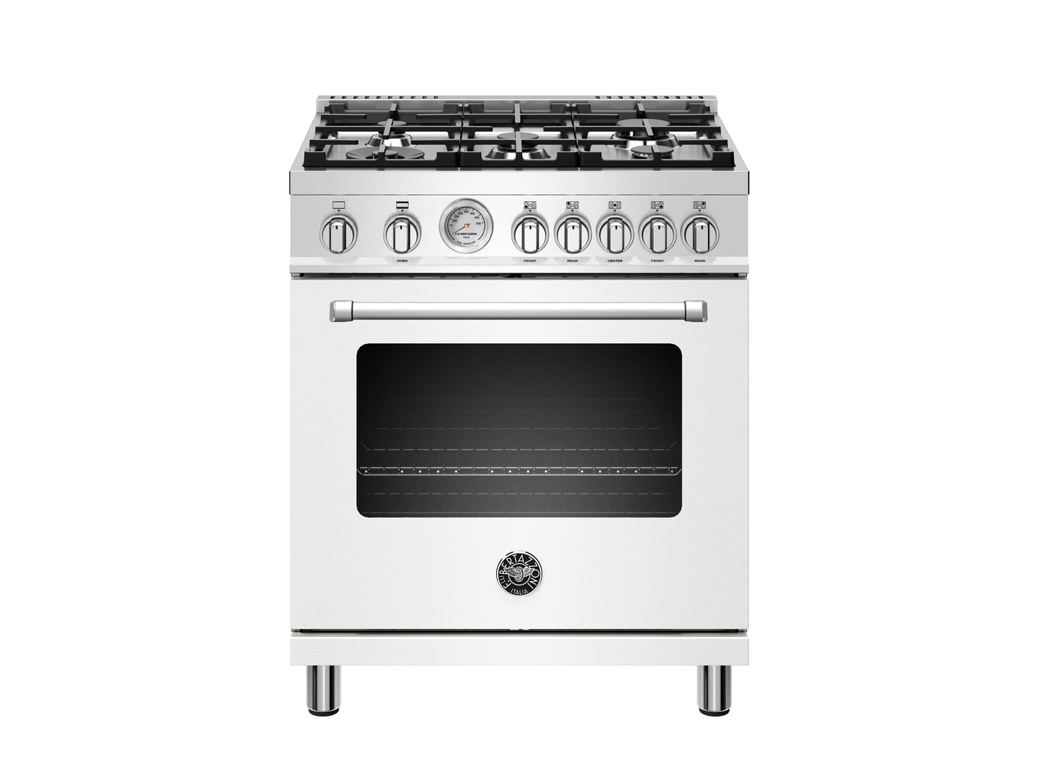 Load image into Gallery viewer, Bertazzoni MAST305GASBIE 30 Inch All Gas Range, 5 Burners Bianco Matt