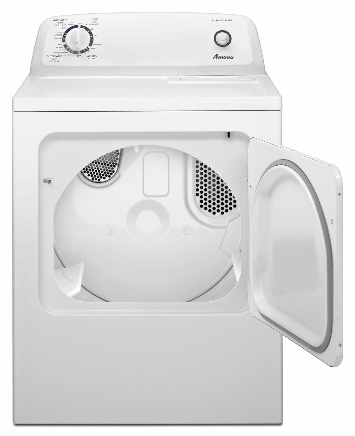 Load image into Gallery viewer, Amana NGD4655EW 6.5 Cu. Ft. Gas Dryer With Wrinkle Prevent Option - White