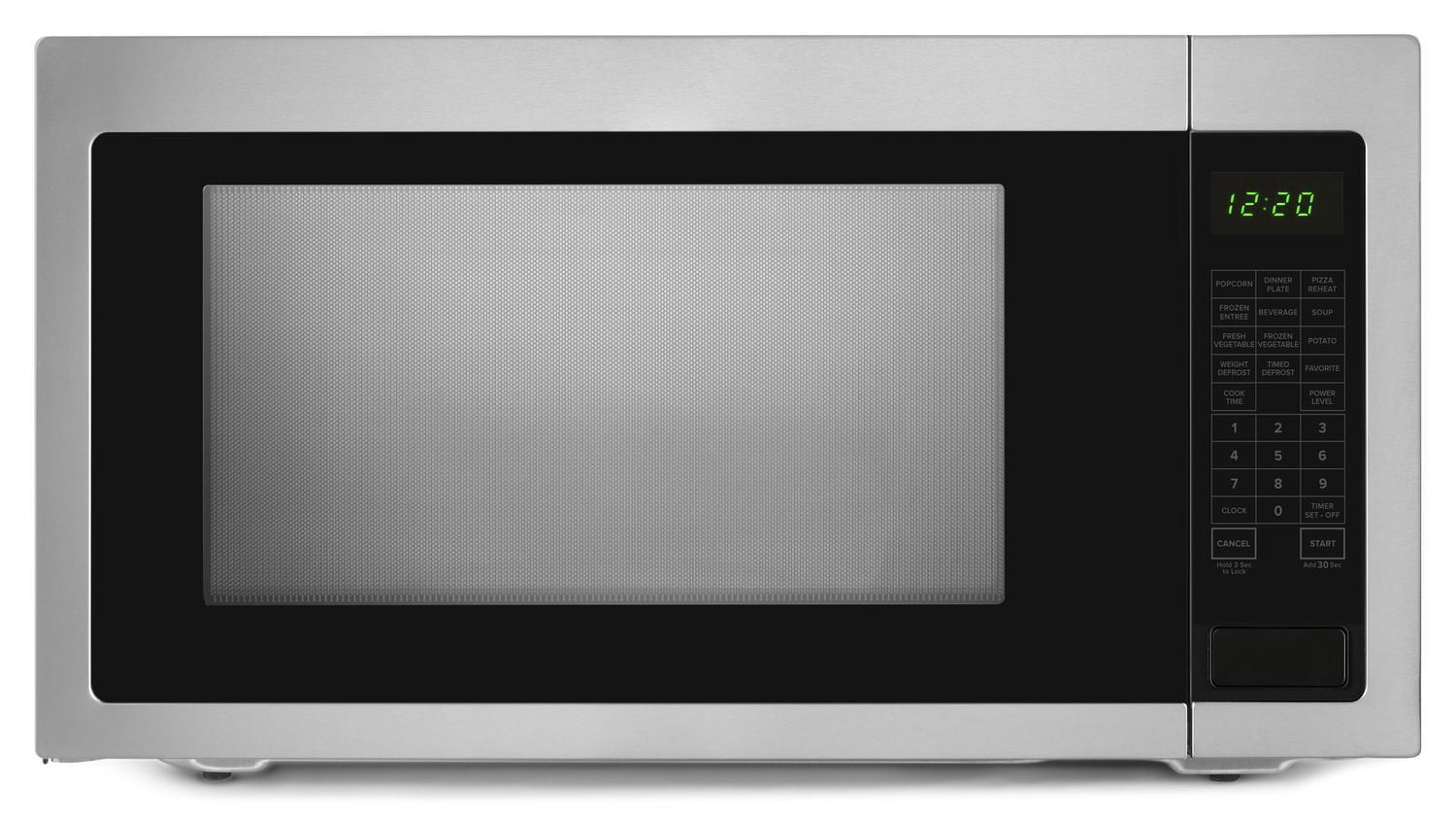 Load image into Gallery viewer, Amana AMC4322GS 2.2 Cu. Ft. Countertop Microwave With Add :30 Seconds Option Black-On-Stainless