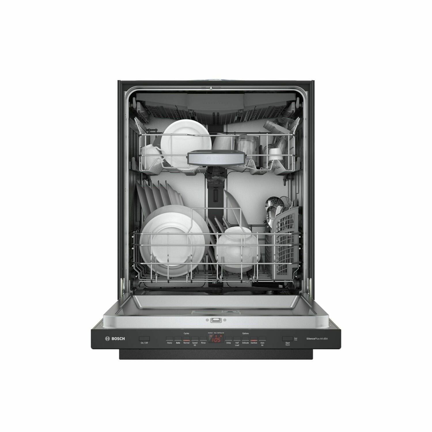 Load image into Gallery viewer, Bosch SHPM65Z56N 500 Series Dishwasher 24'' Black Shpm65Z56N