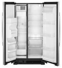 Load image into Gallery viewer, Amana ASI2575GRS 36-Inch Side-By-Side Refrigerator With Dual Pad External Ice And Water Dispenser - Black-On-Stainless