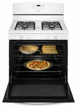 Load image into Gallery viewer, Amana AGR5330BAW 30-Inch Gas Range With Easy Touch Electronic Controls - White