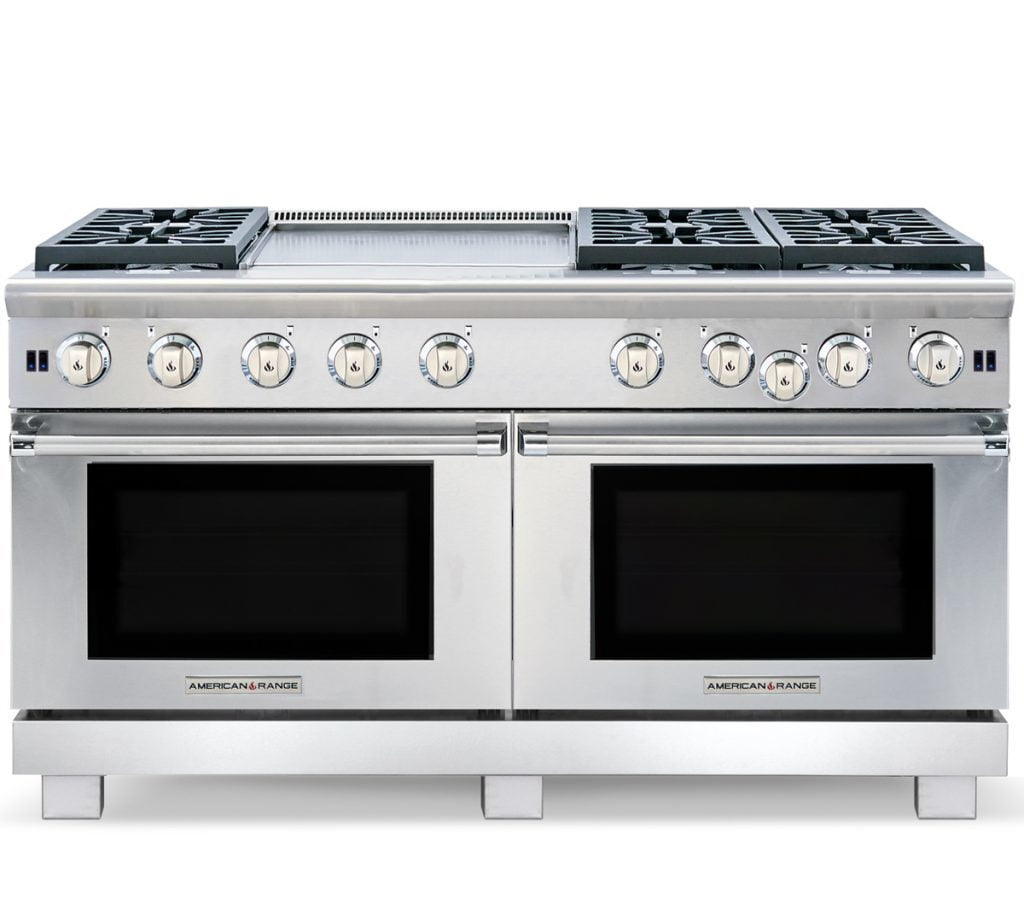"Load image into Gallery viewer, American Range ARR1060N 60"" Cuisine Ranges Natural Gas"