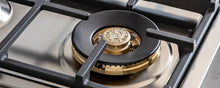 Load image into Gallery viewer, Bertazzoni PROF365QBXT 36 Drop-In Gas Cooktop 5 Brass Burners Stainless Steel