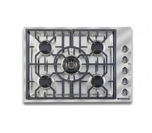 "Load image into Gallery viewer, American Range ARDCT305N Vitesse Sealed-Burner Cooktops 30"" Natural Gas"
