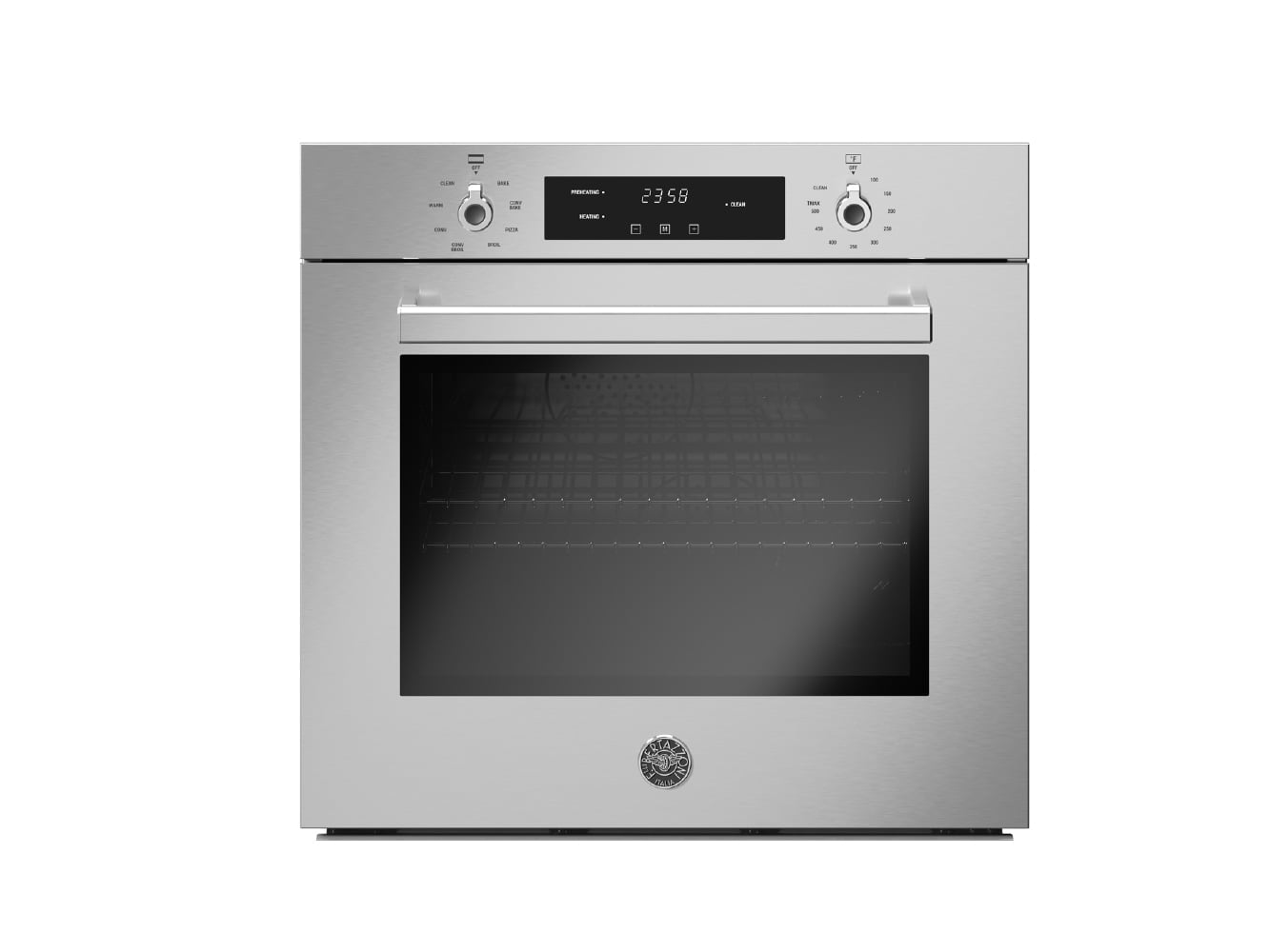 "Load image into Gallery viewer, Bertazzoni PROF30FSEXV 30"" Single Convection Oven Value Version"