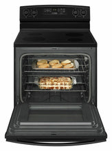 Load image into Gallery viewer, Amana AER6603SFB 30-Inch Electric Range With Self-Clean Option - Black
