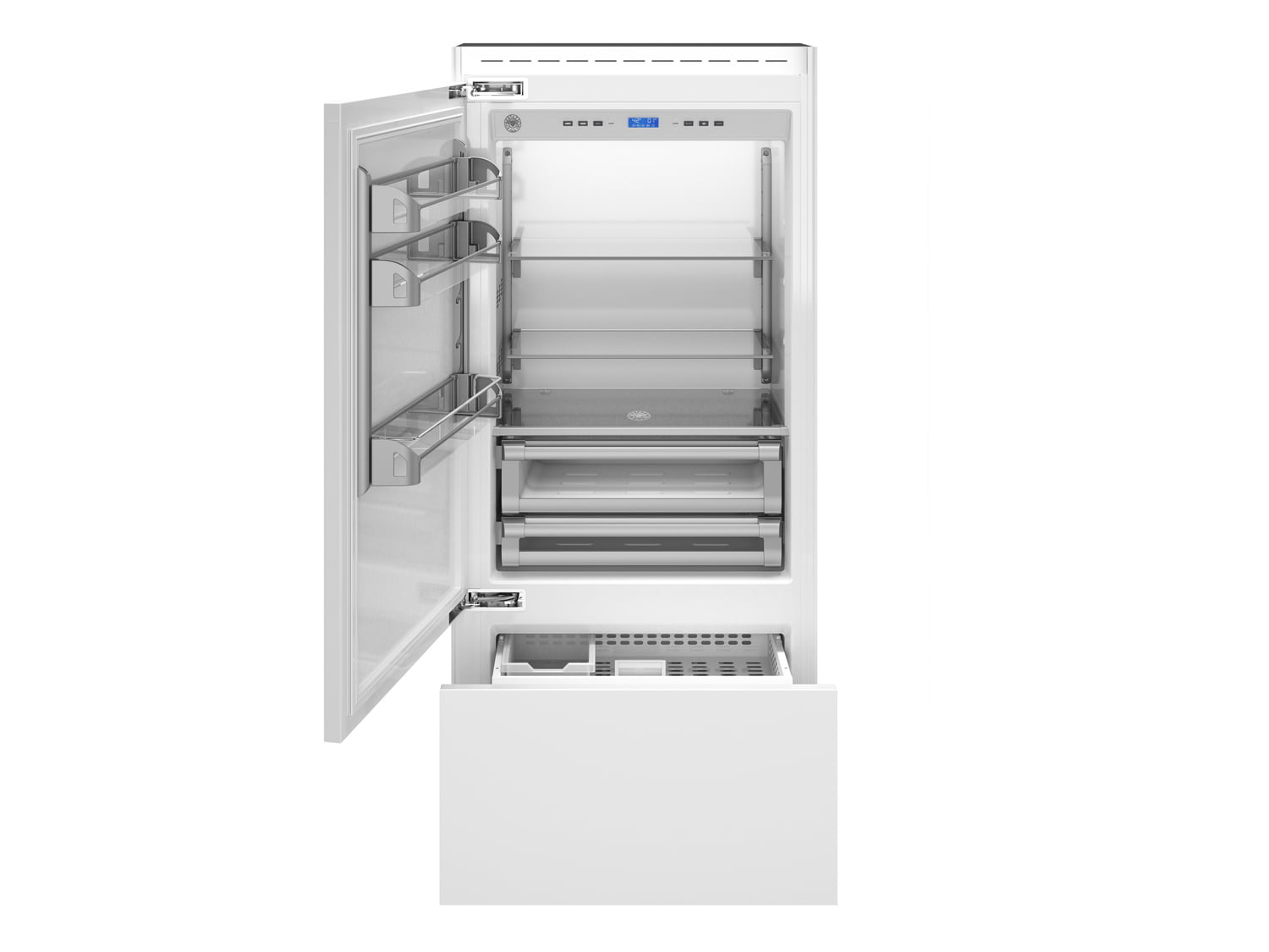 "Load image into Gallery viewer, Bertazzoni REF36PRL 36"" Built-In Refrigerator - Panel Ready - Left Swing Door"