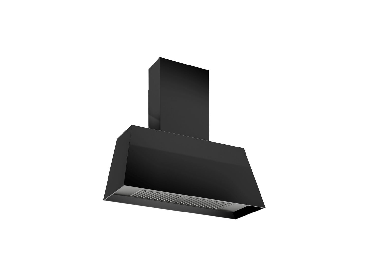 Load image into Gallery viewer, Bertazzoni KMC30NE 30'' Contemporary Canopy Hood, 1 Motor 600 Cfm Nero Matt