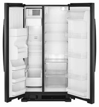 Load image into Gallery viewer, Amana ASI2175GRB 33-Inch Side-By-Side Refrigerator With Dual Pad External Ice And Water Dispenser - Black