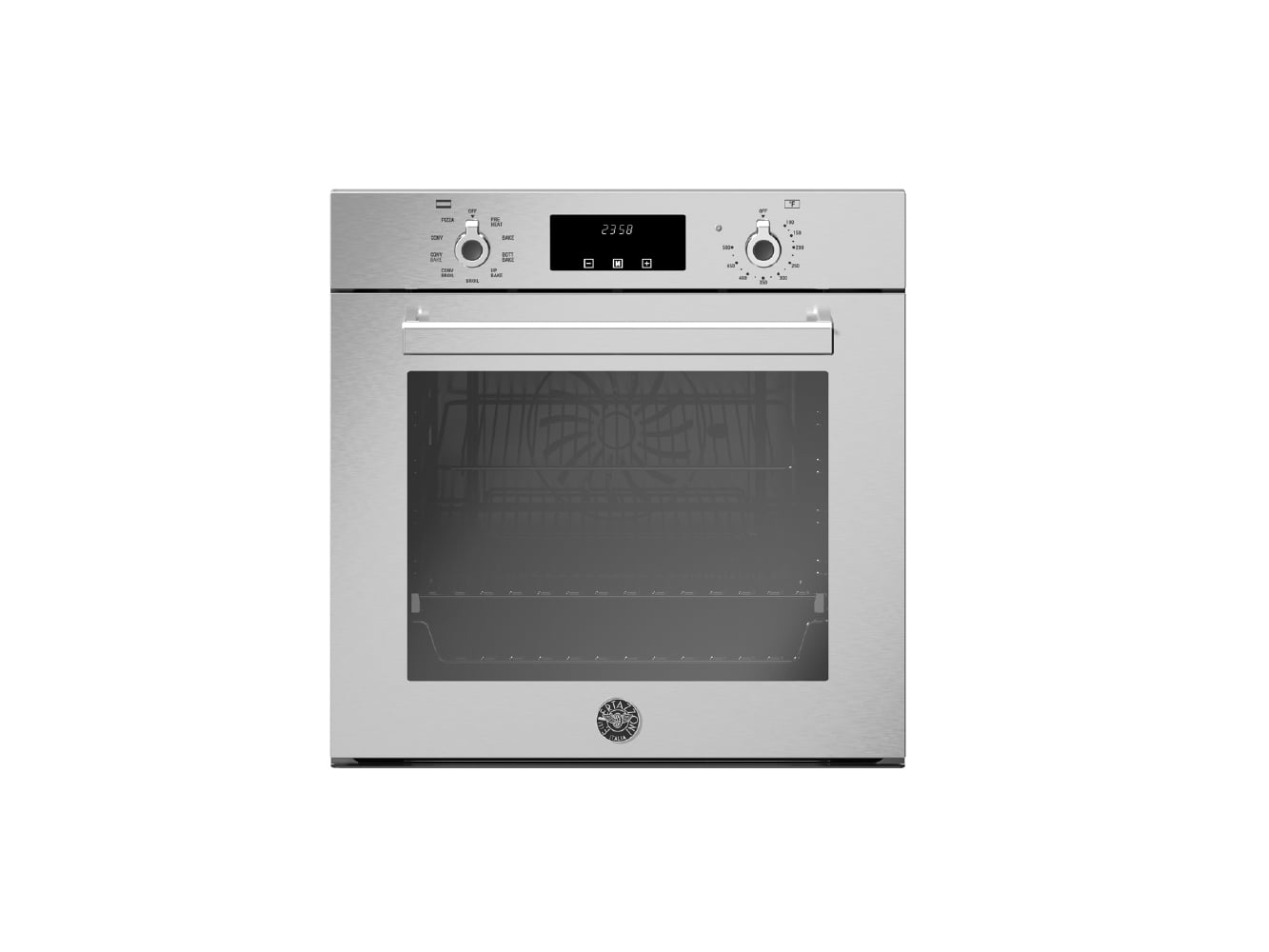 "Load image into Gallery viewer, Bertazzoni PROF24FSEXV 24"" Single Electric Convection Oven"