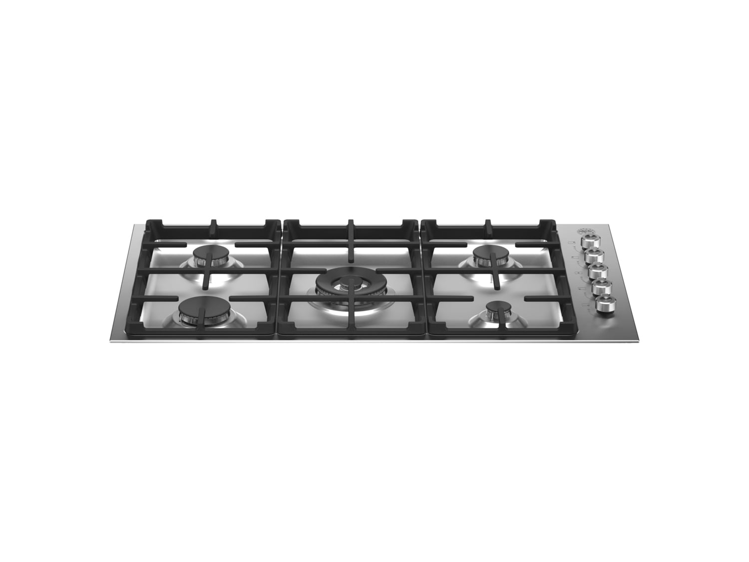 Load image into Gallery viewer, Bertazzoni PROF365QXE 36 Drop-In Gas Cooktop 5 Burners Stainless Steel