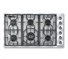 "Load image into Gallery viewer, American Range ARDCT366N Vitesse Sealed-Burner Cooktops 36"" Natural Gas"