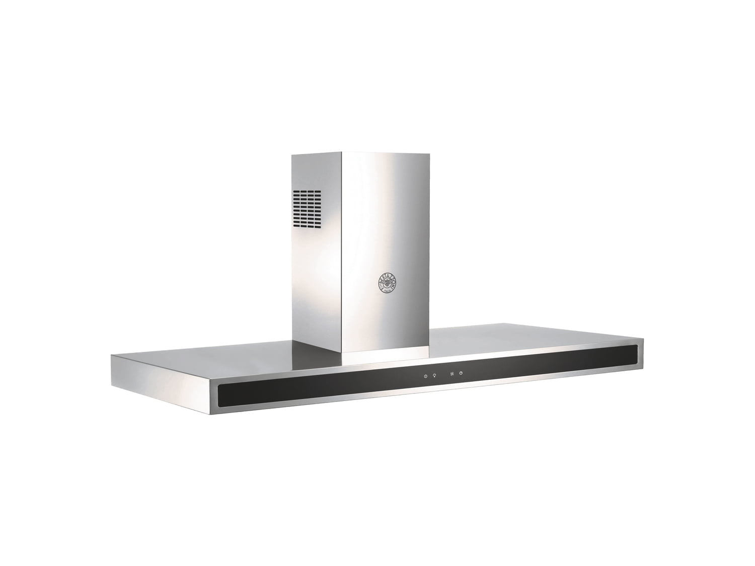 Load image into Gallery viewer, Bertazzoni KG48X 48 Wallmount Hood, Glass Front, 1 Motor 600 Cfm Stainless Steel