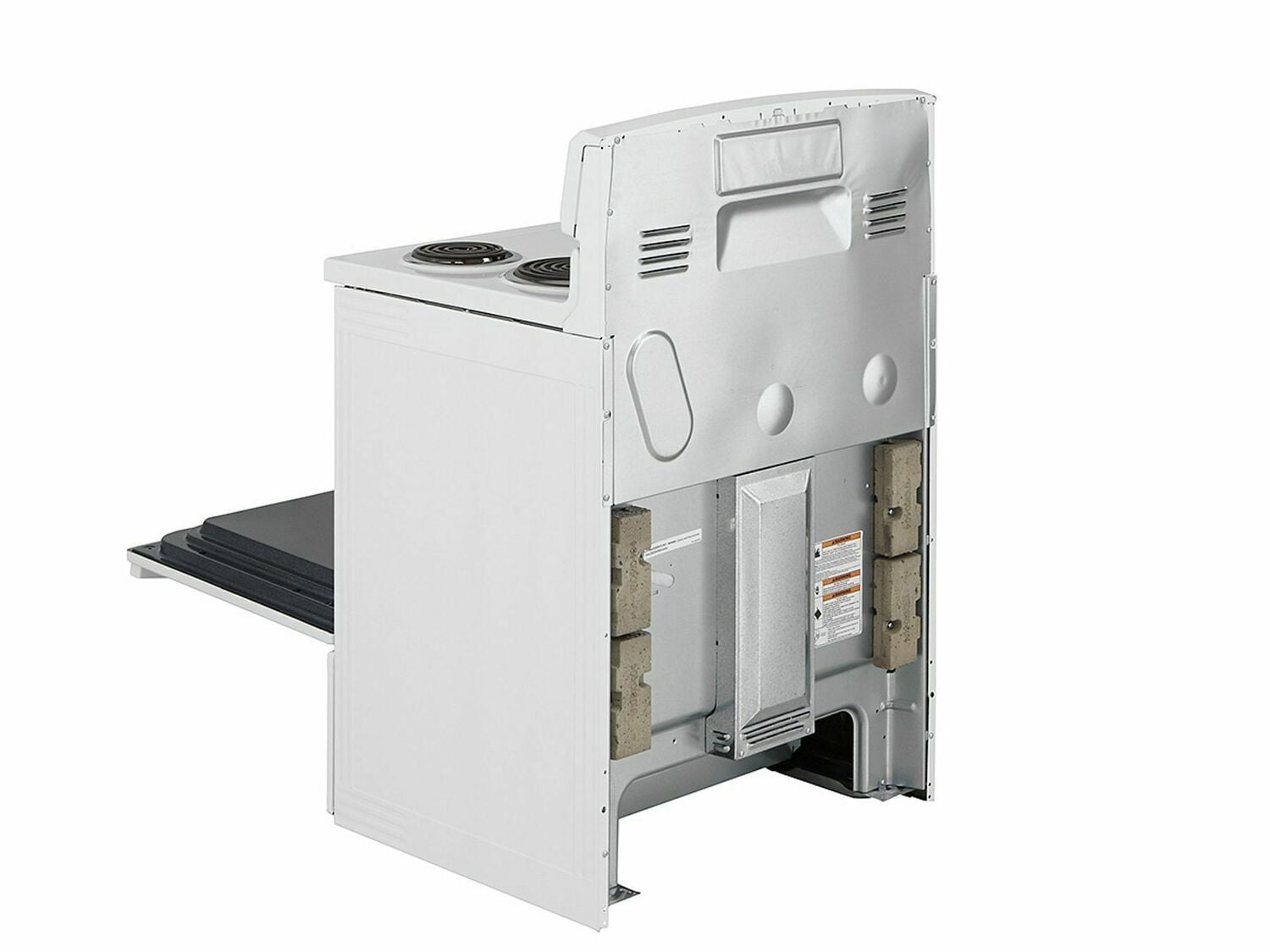 Load image into Gallery viewer, Amana ACR2303MFW 30-Inch Electric Range With Warm Hold - White