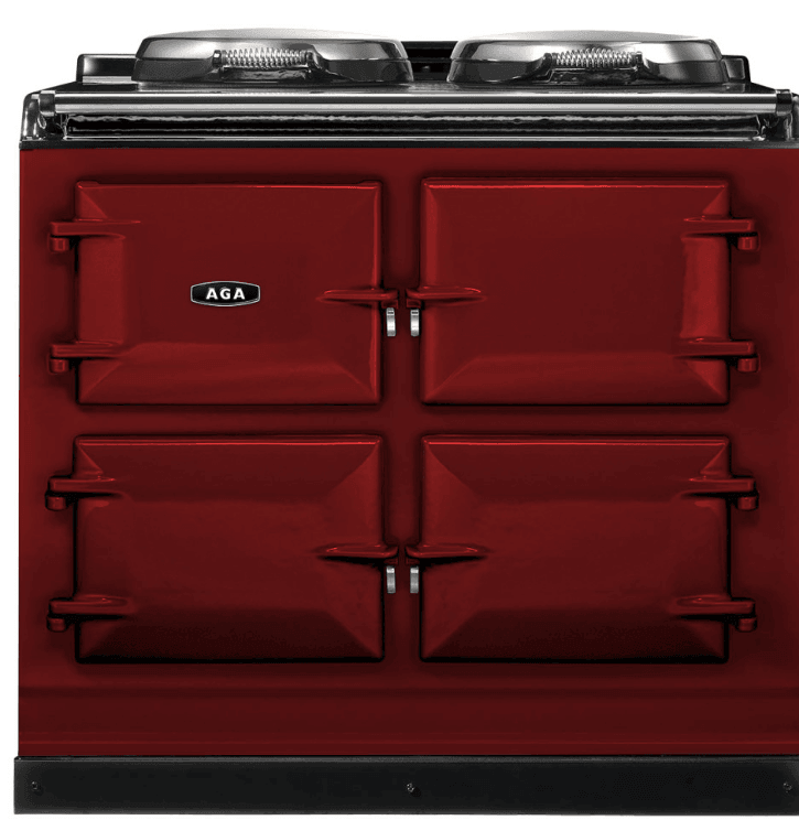 Load image into Gallery viewer, Aga ADC3GCLT Aga 39In Dual Control 3-Oven Natural Gas Cast Iron Range - Claret