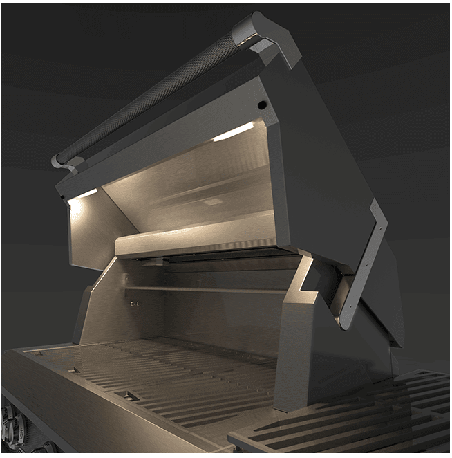 "Load image into Gallery viewer, Hestan GSBR42LPGG Hestan 42"" Liquid Propane Gas Built In Grill Gsbr42 - Dark Grey (Pacific Fog)"
