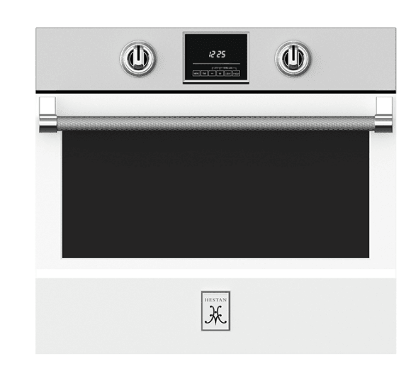 "Load image into Gallery viewer, Hestan KSO30WH 30"" Single Wall Oven - White / Froth"