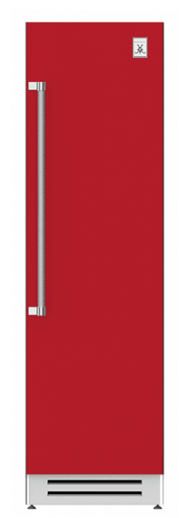 "Load image into Gallery viewer, Hestan KFCR24RD 24"" Column Freezer - Right Hinge - Red / Matador"