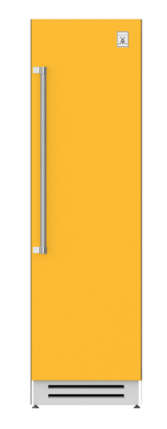 "Load image into Gallery viewer, Hestan KRCR24YW 24"" Column Refrigerator - Right Hinge - Yellow / Sol"