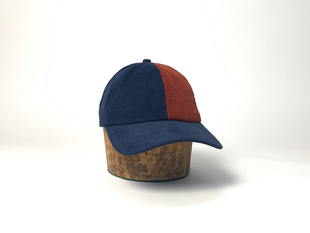 Buttergoods - Fraction 6 Panel Corduroy Strapback Hat