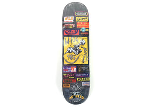 Anti-Hero - Taylor Broadcast Deck 8.25""