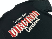 Load image into Gallery viewer, Cardinal - Greetings From Virginia Logo #1 Tee