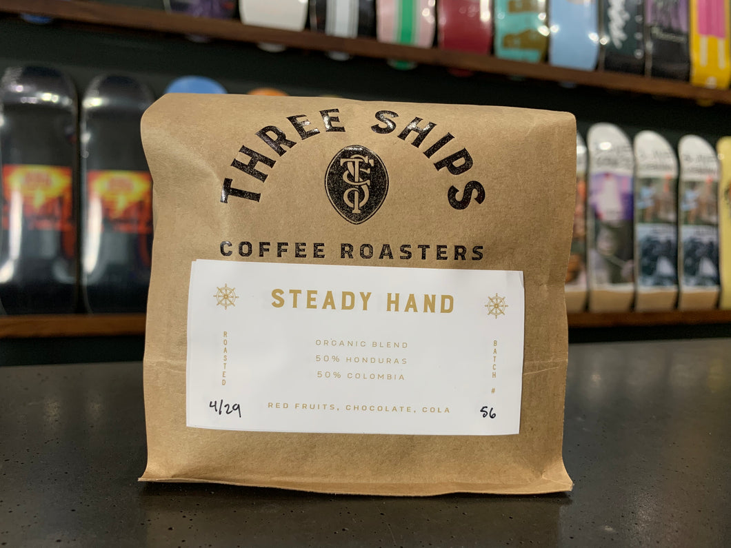 Three Ships Coffee - Steady Hand Blend (12oz)