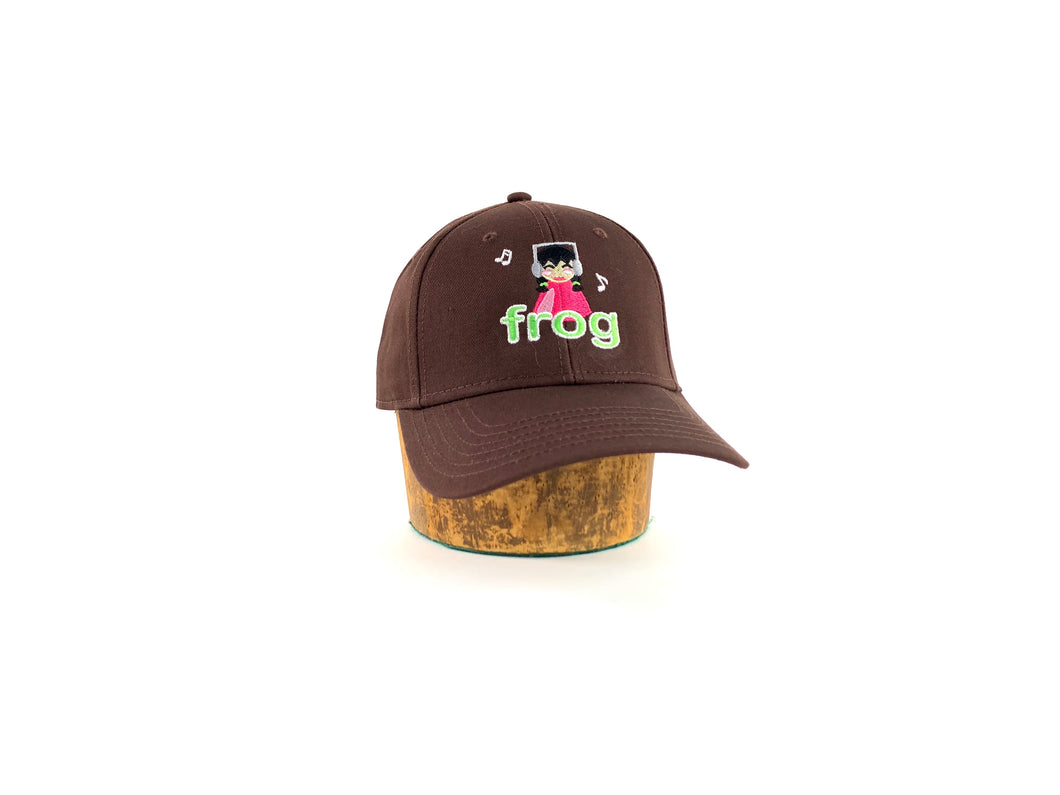 Frog - I'm Not Listening 6 Panel Strapback Hat