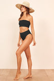 Black Smock High Waist Bikini - Swimwear - Sunny Angela